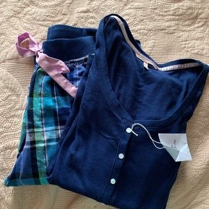 Victoria's Secret blue pajama set